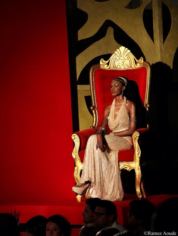 Andréa Kakou, Egérie de Moreno's Fashion