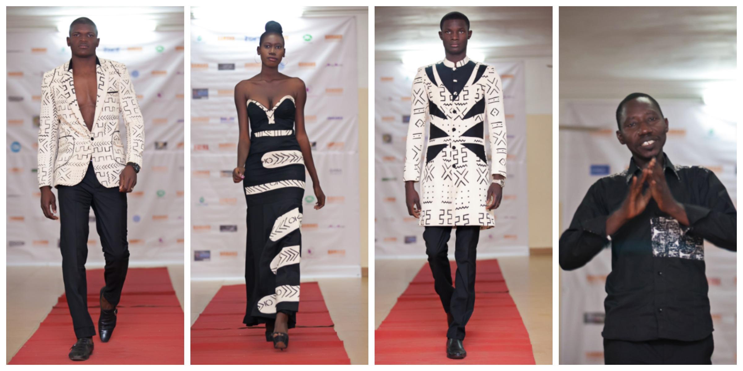 Salif Koné, vainqueur du concours jeunes créateurs