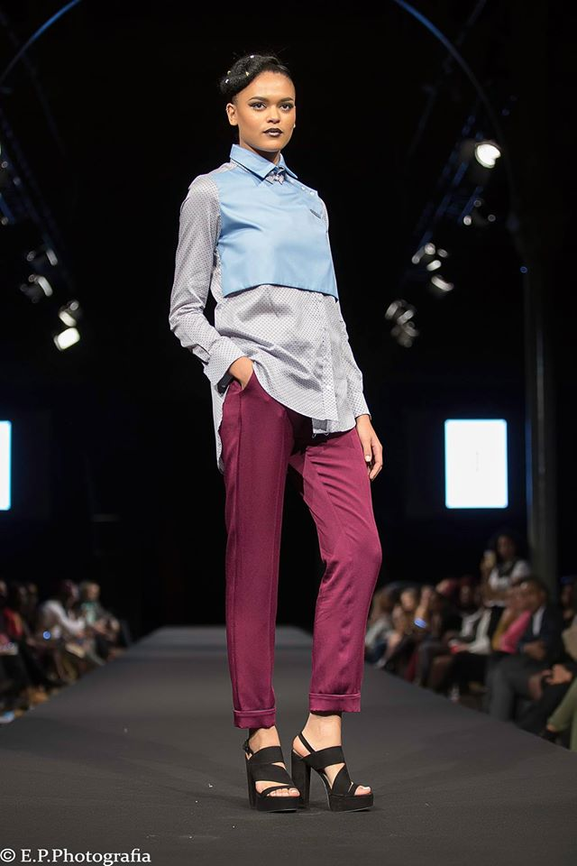racha farah black fashion week paris 2