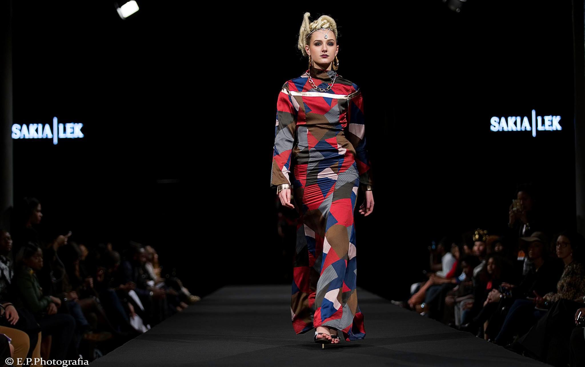 sakia lek black fashion week paris