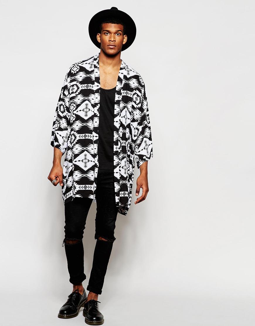 kimono for men fall in mode. Black Bedroom Furniture Sets. Home Design Ideas