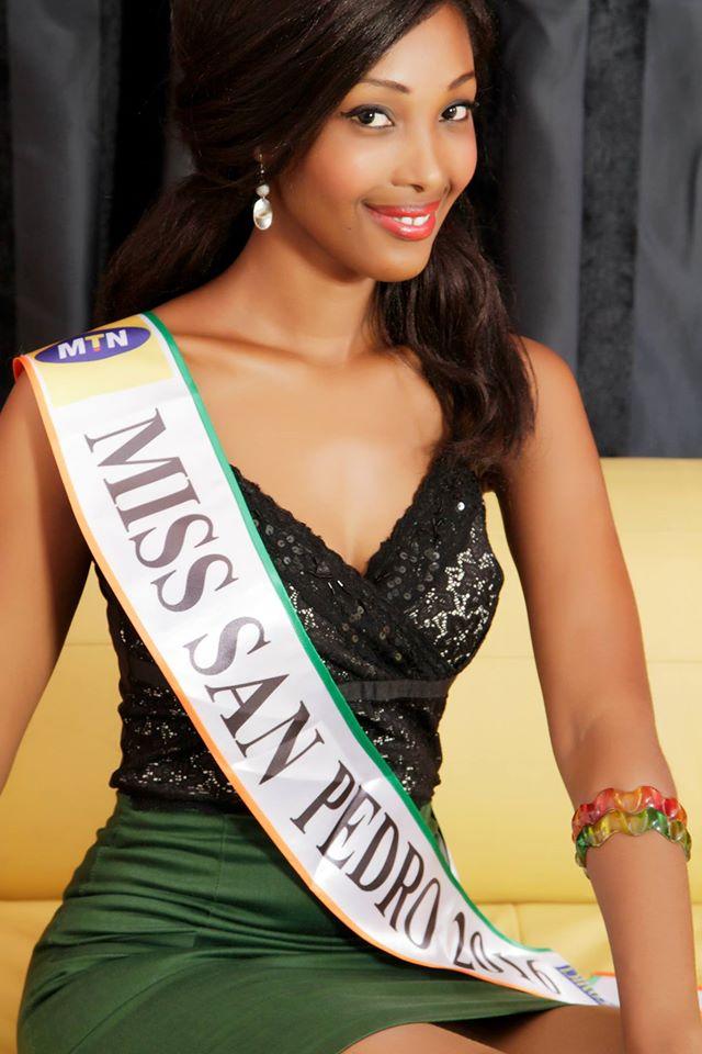 djenebou najim miss côte d'ivoire 2016 miss san pedro