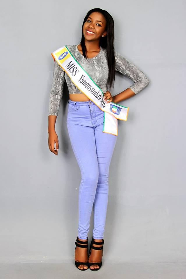 esther memel miss côte d'ivoire 201 miss belier yamoussoukro 2016