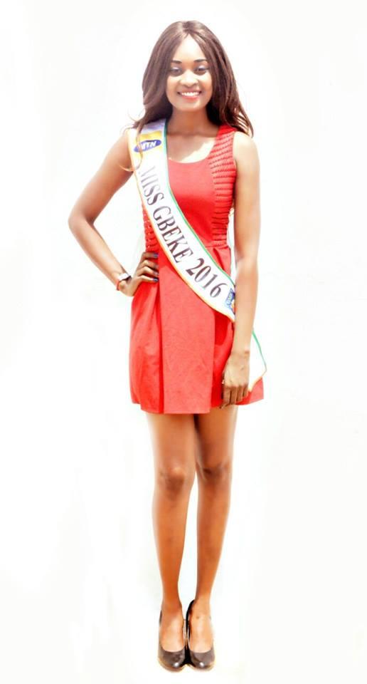 fatimata m'bathié miss bouaké gbèkè 2016