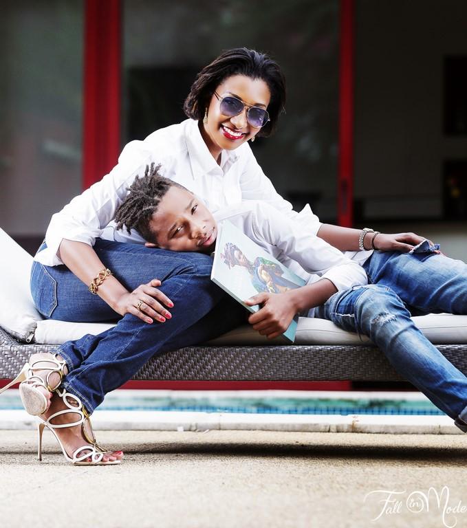 isabelle moreno et son fils côte d'ivoire
