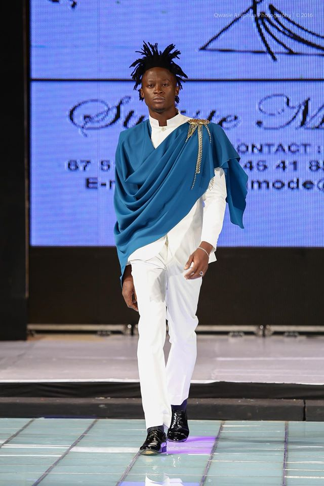 modeste ba mercedes benz africa fashion week mode homme