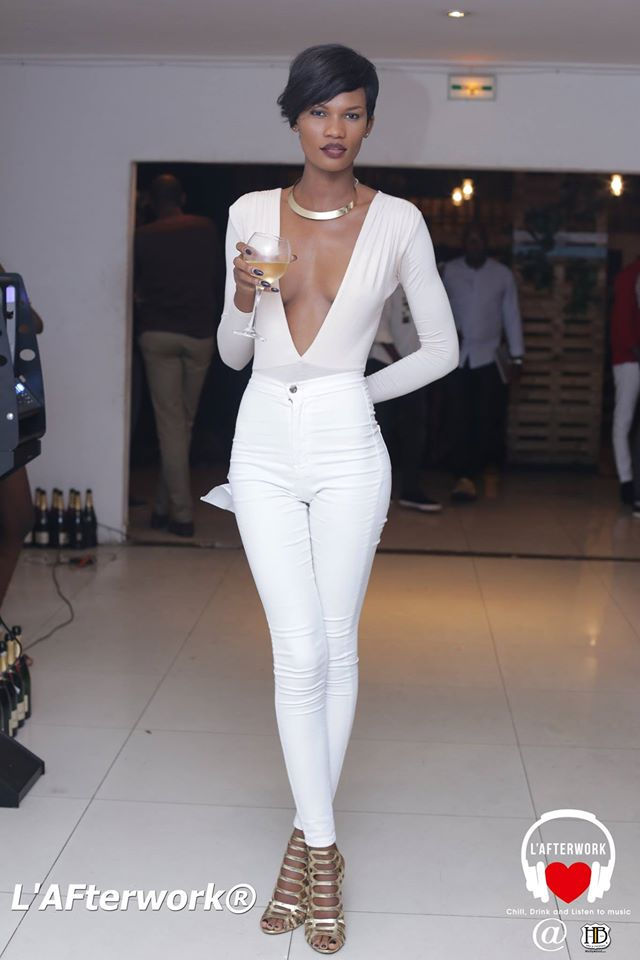 Le mannequin Kady Coulibaly