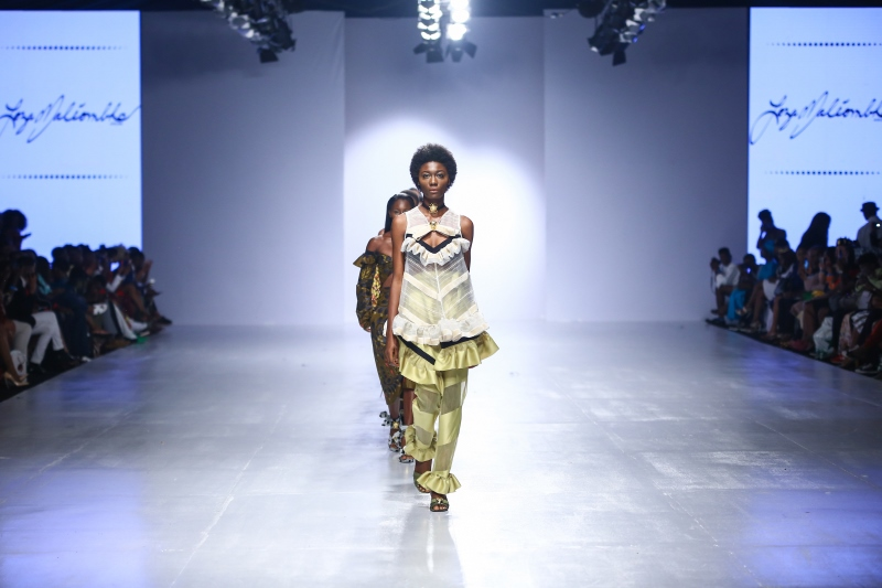 Loza Maleombho à la Lagos Fashion & Design Week 2016