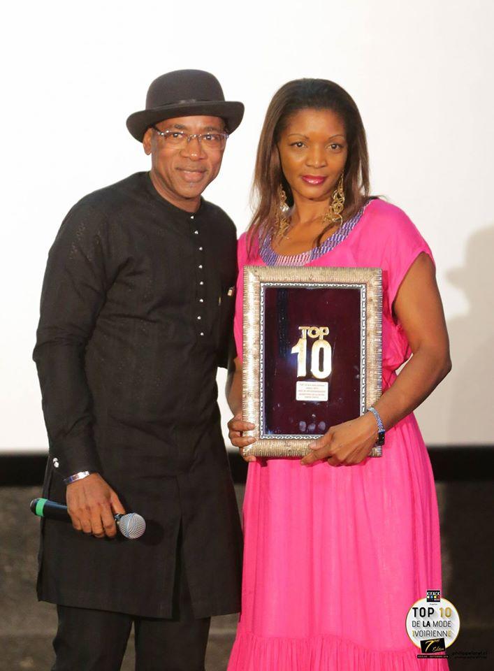 top 10 de la mode ivoirienne karine tano galerie ettyka