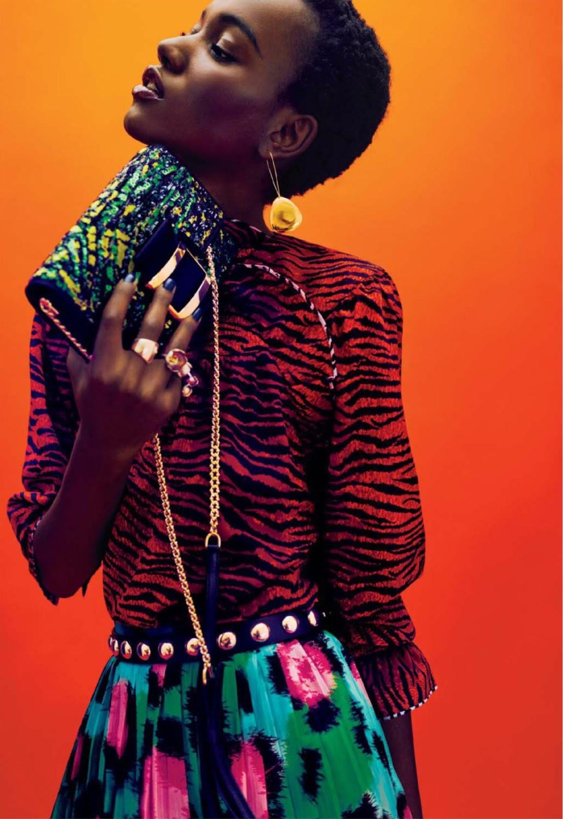 Herieth Paul pour Glamour Magazine-Decembre 2016