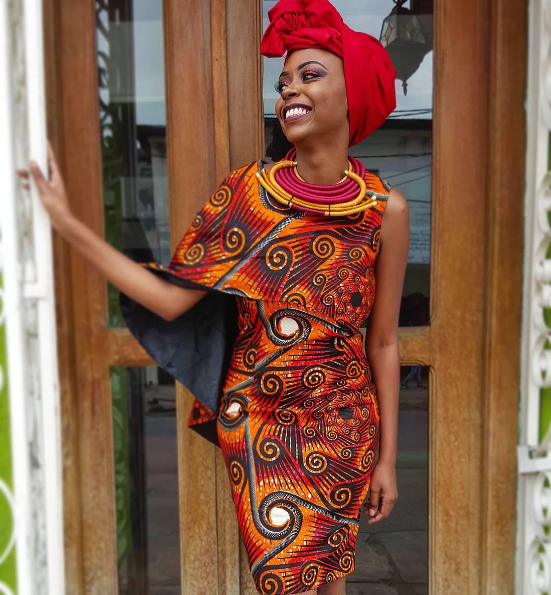 La créatrice Maureen Ayité de la marque Nana Wax