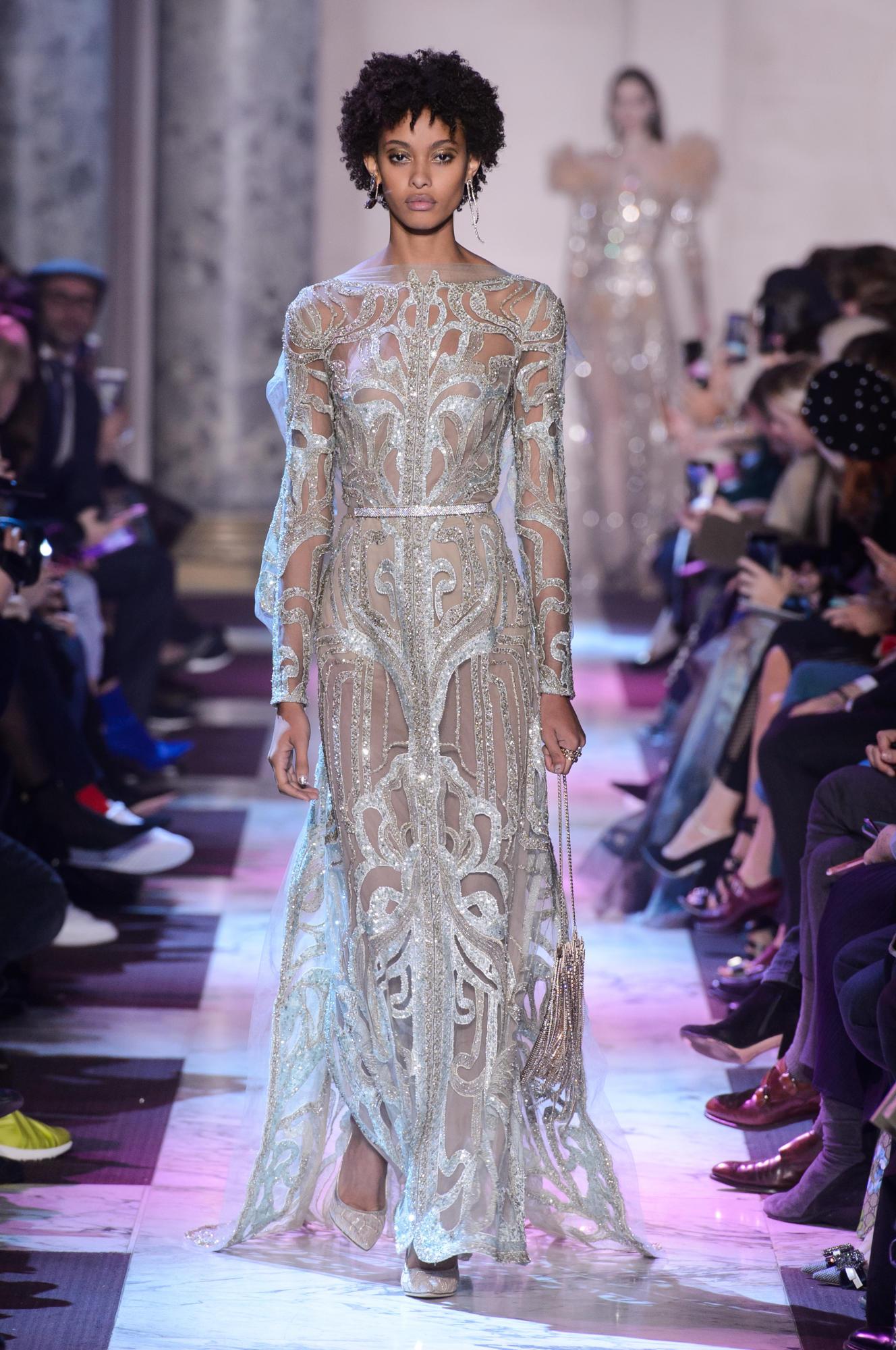 Fashion Week Haute Couture Paris Ss18 Les Mannequins